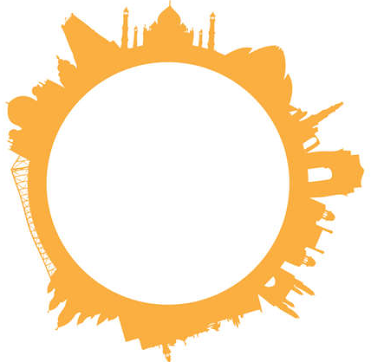 drawing of a stylized sun