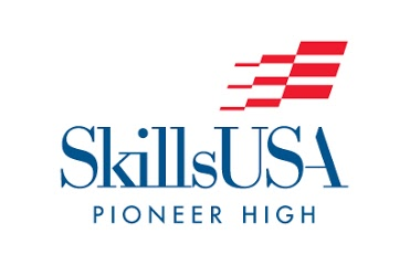 Skills USA logo for Pioneer High